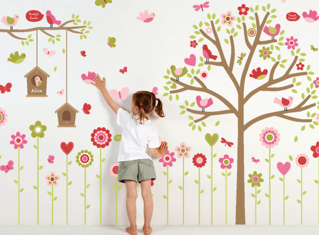 wall sticker discount codes sass and spice fine and elegant flowers garden wall decals cheap